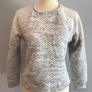 Zara Quilted Sweatshirt